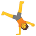 🤸 person cartwheeling Emoji on Google Platform