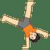 🤸🏻 person cartwheeling: light skin tone Emoji on Google Platform