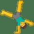 🤸♂️ man cartwheeling Emoji on Google Platform