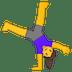 🤸♀️ woman cartwheeling Emoji on Google Platform