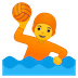 🤽 person playing water polo Emoji on Google Platform
