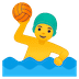 🤽‍♂️ man playing water polo Emoji on Google Platform
