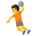 🤾 person playing handball Emoji on Google Platform