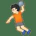 🤾🏻 person playing handball: light skin tone Emoji on Google Platform