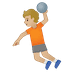 🤾🏼 person playing handball: medium-light skin tone Emoji on Google Platform
