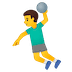 🤾‍♂️ man playing handball Emoji on Google Platform