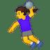 🤾♀️ woman playing handball Emoji on Google Platform