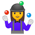 🤹‍♀️ woman juggling Emoji on Google Platform