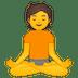 🧘 person in lotus position Emoji on Google Platform