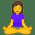 🧘♀️ Woman In Lotus Position Emoji on Google Platform