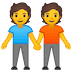 🧑‍🤝‍🧑 people holding hands Emoji on Google Platform