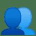 👥 Busts In Silhouette Emoji on Google Platform