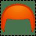 🦰 red hair Emoji on Google Platform