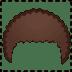 🦱 curly hair Emoji on Google Platform