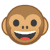 🐵 Monkey Face Emoji on Google Platform