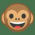 🐵 monkey face Emoji on Google Platform