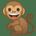 🐒 monkey Emoji on Google Platform