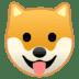 🐶 Mukha ng Aso Emoji sa Google Platform