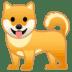 🐕 dog Emoji on Google Platform