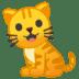 🐈 cat Emoji on Google Platform