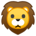 🦁 lion Emoji on Google Platform