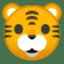 🐯 tiger face Emoji on Google Platform