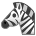 🦓 Zebra Emoji on Google Platform
