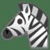 🦓 zebra Emoji on Google Platform