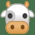 🐮 cow face Emoji on Google Platform