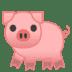 🐖 pig Emoji on Google Platform