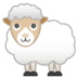 🐑 ewe Emoji on Google Platform