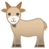 🐐 goat Emoji on Google Platform
