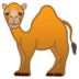 🐪 camel Emoji on Google Platform