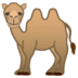 🐫 two-hump camel Emoji on Google Platform