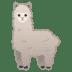 🦙 llama Emoji on Google Platform