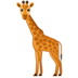 🦒 Giraffe Emoji on Google Platform