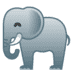 🐘 elephant Emoji on Google Platform