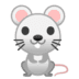 🐁 mouse Emoji on Google Platform