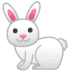 🐇 rabbit Emoji on Google Platform