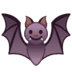 🦇 bat Emoji on Google Platform