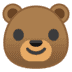 🐻 bear Emoji on Google Platform