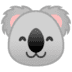 🐨 koala Emoji on Google Platform