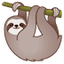 🦥 sloth Emoji on Google Platform