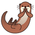 🦦 otter Emoji on Google Platform