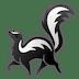 🦨 skunk Emoji on Google Platform