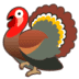 🦃 turkey Emoji on Google Platform