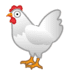 🐔 chicken Emoji on Google Platform