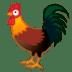 🐓 rooster Emoji on Google Platform