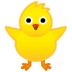 🐥 front-facing baby chick Emoji on Google Platform
