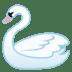 🦢 swan Emoji on Google Platform
